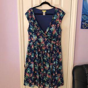 ModCloth Floral Dress